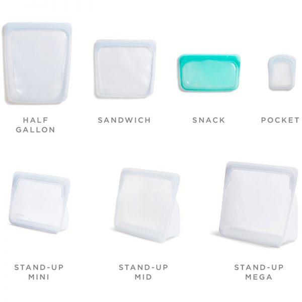 EarthHero - Tropical Collection: Silicone Stasher Sandwich Bag - 6
