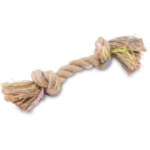 EarthHero - Double Knot Hemp Rope Dog Toy 1