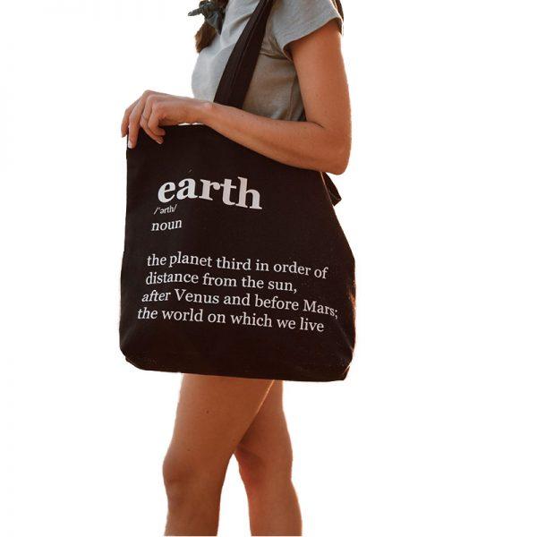 EarthHero - Earth Canvas Tote Bag - 1