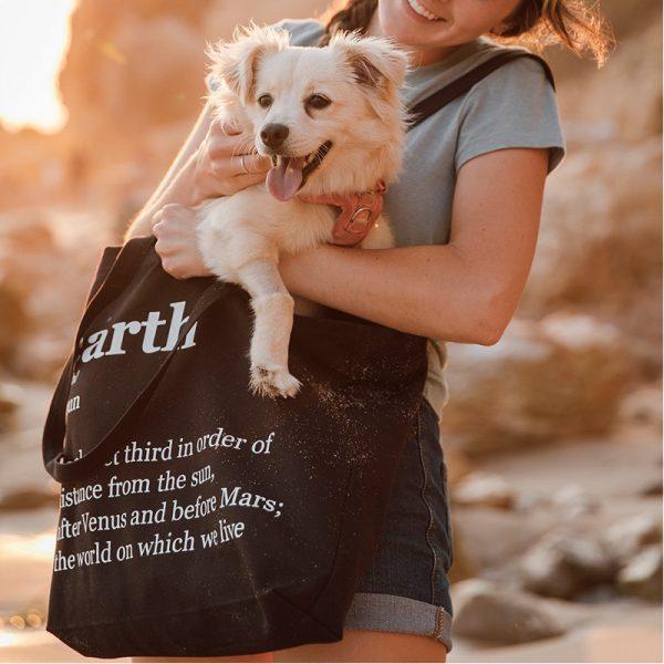 EarthHero - Earth Canvas Tote Bag - 4