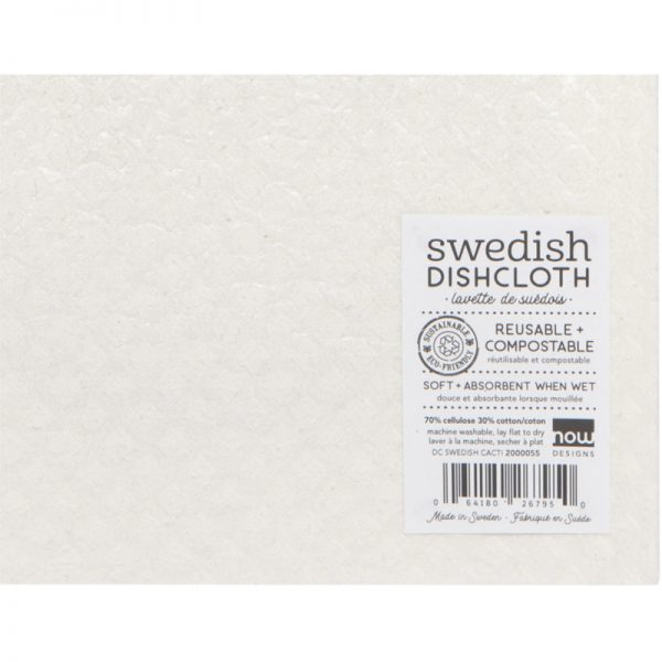 EarthHero - Sage Zigzag Reusable Swedish Dishcloth - 2