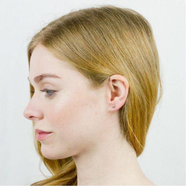 EarthHero - Tiny Eclipse Stud Earrings - 2