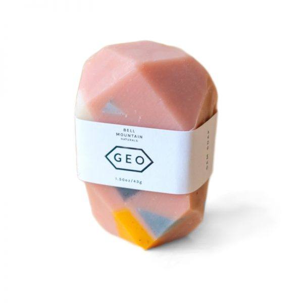 EarthHero - Terrazzo Geo Natural Soap - Pink - 1