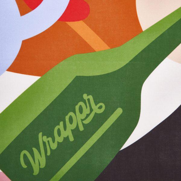 """EarthHero - Fete Reusable Fabric Gift Wrap - 3"