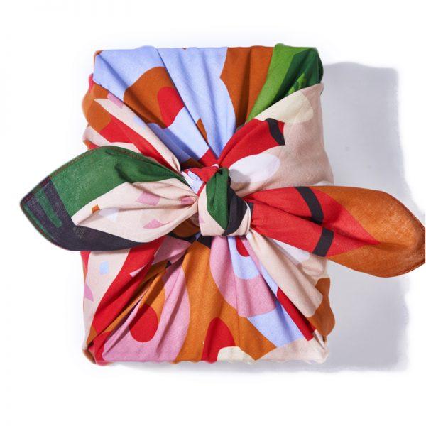"""EarthHero - Fete Reusable Fabric Gift Wrap - 4"