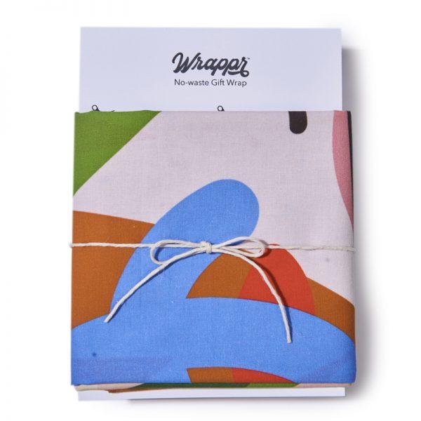 """EarthHero - Fete Reusable Fabric Gift Wrap - 6"