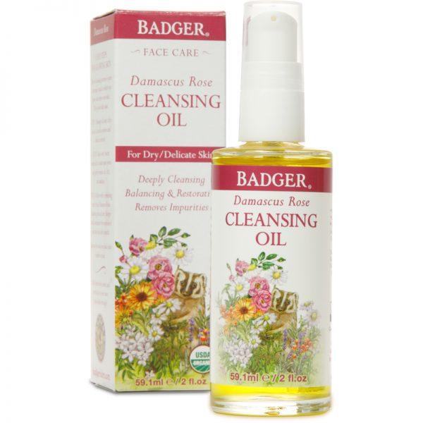 EarthHero - Badger Cleansing Oil Damascus Rose - 1