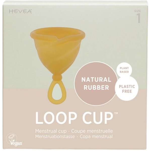 EarthHero - Natural Rubber Menstrual Cup - Size 1