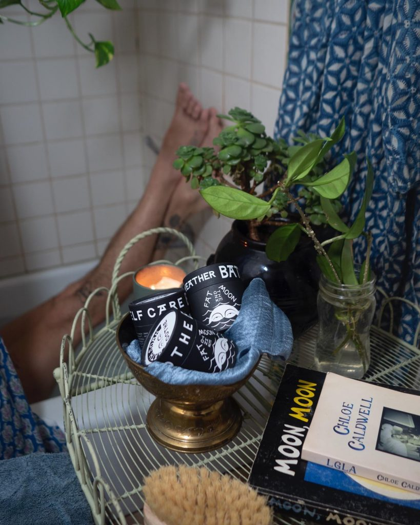 Self care mineral bath soak | Fat and the Moon | 14 Sustainable Valentine's Day Gifts to Show Your Love This Season | Sustainable