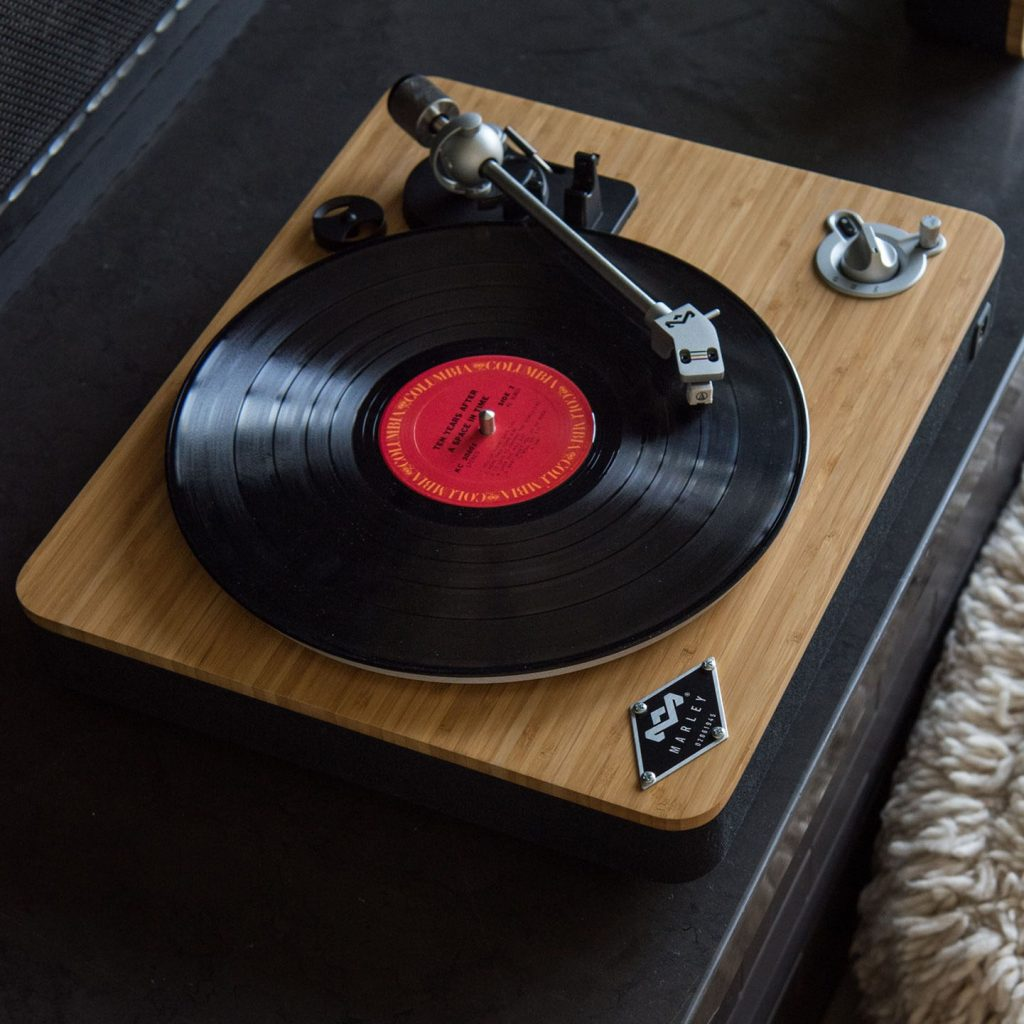 Stir It Up Bamboo Turntable | House of Marley | 14 Sustainable Valentine's Day Gifts to Show Your Love This Season | Sustainable