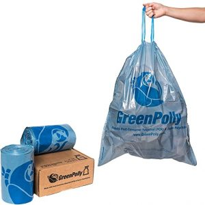 Compostable vs Recycled Content Single-Use Products BioBag Green Polly EarthHero