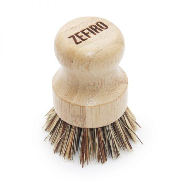 EarthHero - Bamboo Abrasive Pot Scrubber - 1