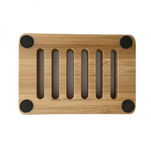 EarthHero - Wooden Rectangular Soap Dish - 2