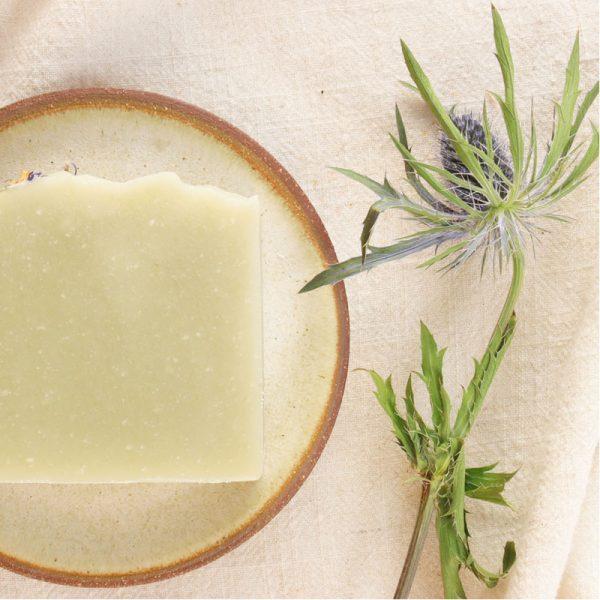 EarthHero - Basil Lemon Natural Soap Bar - 5