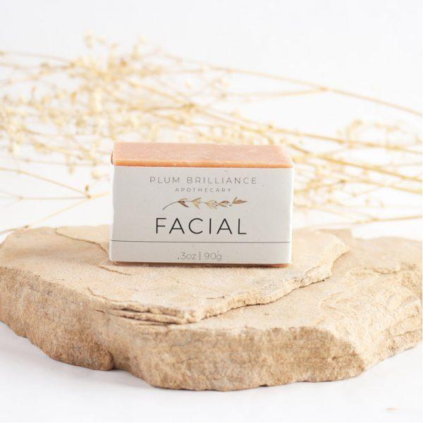 EarthHero - Pink Clay Natural Face Soap Bar - 3