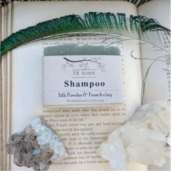 EarthHero - Green Clay Natural Shampoo Bar - 2