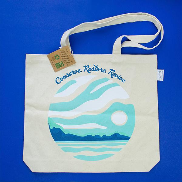 "Revive"" Reusable Tote Bag - 1"