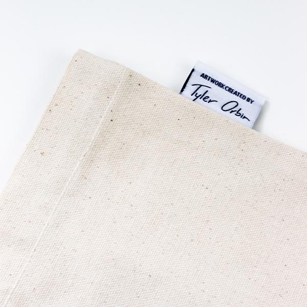 "EarthHero - ""Be the Solution"" Reusable Tote Bag - 4"