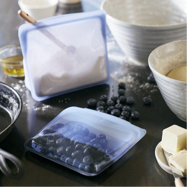 EarthHero - Endangered Seas Collection: Silicone Sandwich Stasher Bag - 2