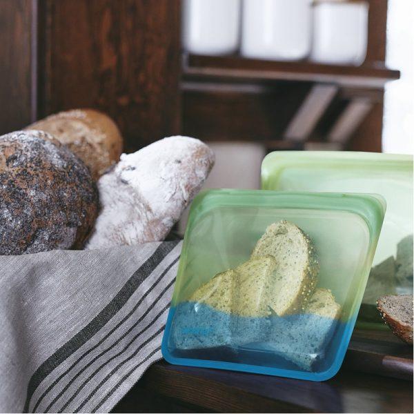 EarthHero - Endangered Seas Collection: Silicone Sandwich Stasher Bag - 3