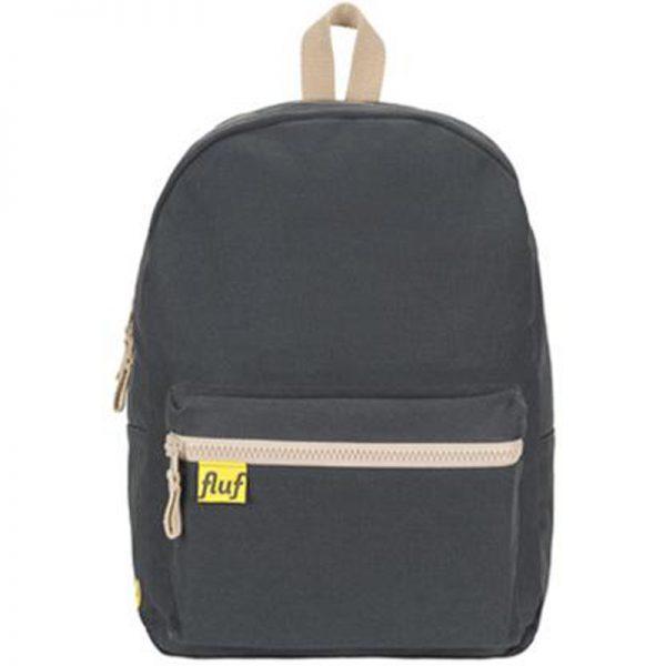 EarthHero - Organic Cotton Laptop Sleeve Backpack  - Black - 1