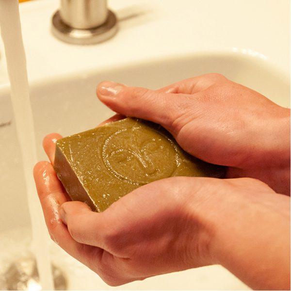 EarthHero - Mint + Sea Mineral Cold Process Organic Soap Bar - 5