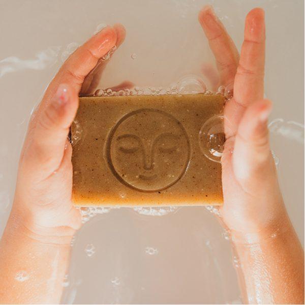 EarthHero - Oatmeal Sage Cold Process Organic Soap Bar - 5