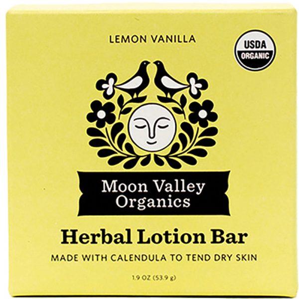 EarthHero - Vanilla Lemon Organic Lotion Bar - 1
