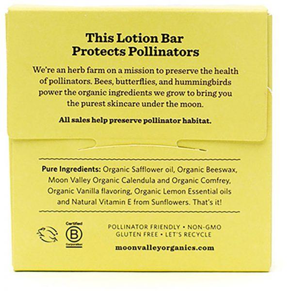 EarthHero - Vanilla Lemon Organic Lotion Bar - 2