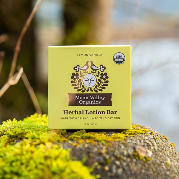 EarthHero - Vanilla Lemon Organic Lotion Bar - 6