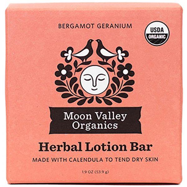 EarthHero - Bergamot Geranium Lemon Organic Lotion Bar - 1