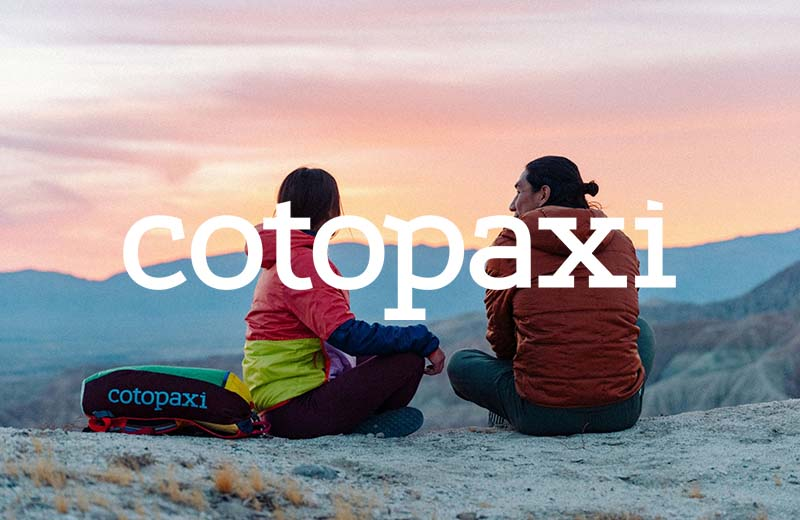 Cotopaxi Menu Image